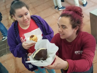 Desert Stop Food Truck Catering - Long Island University Open House College cupcakes students