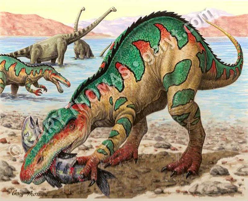 Suchomimus_Brachiosaurus