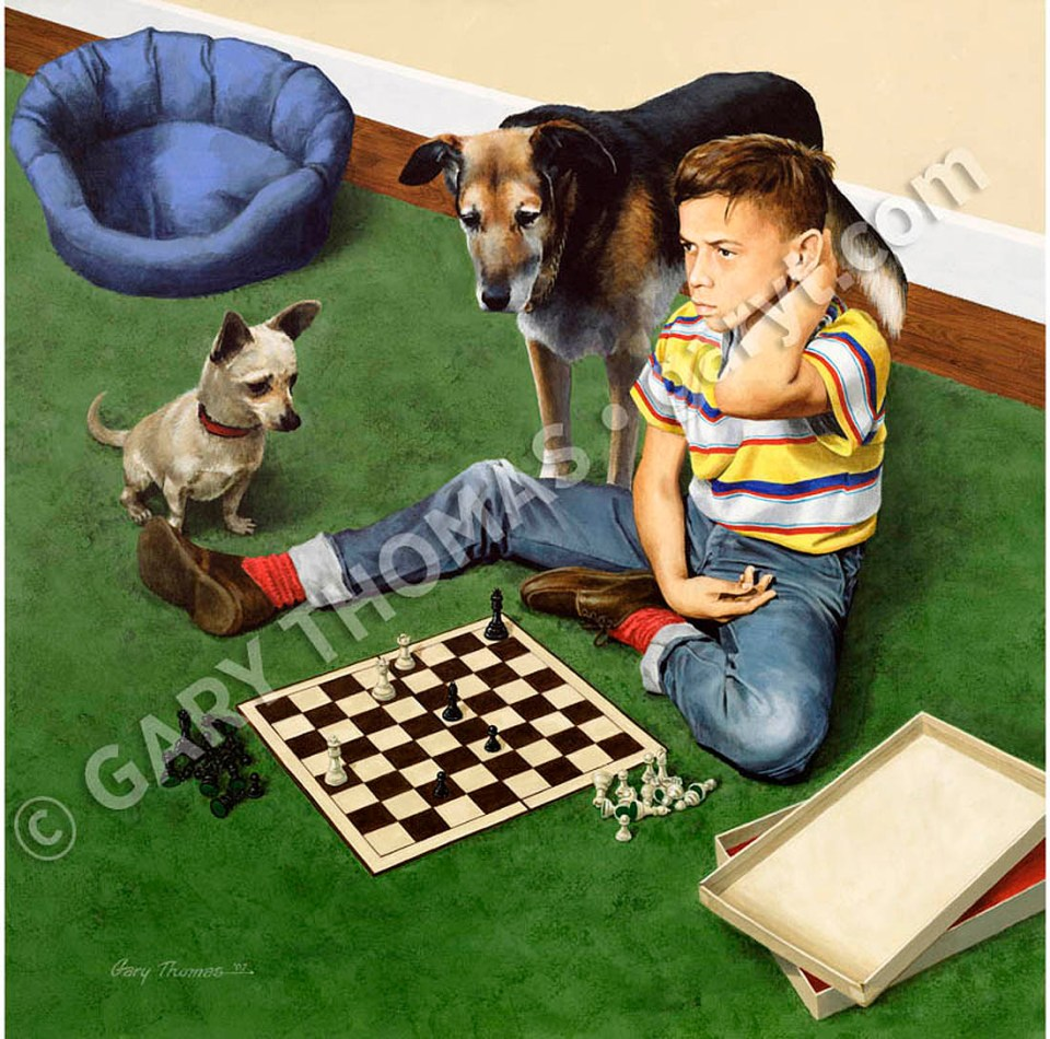 gary thomas Chess - kenny