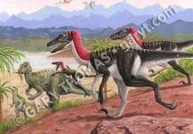 Utahraptors & Iguanadons