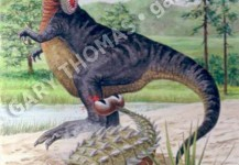 T-Rex & Euoplocephalus