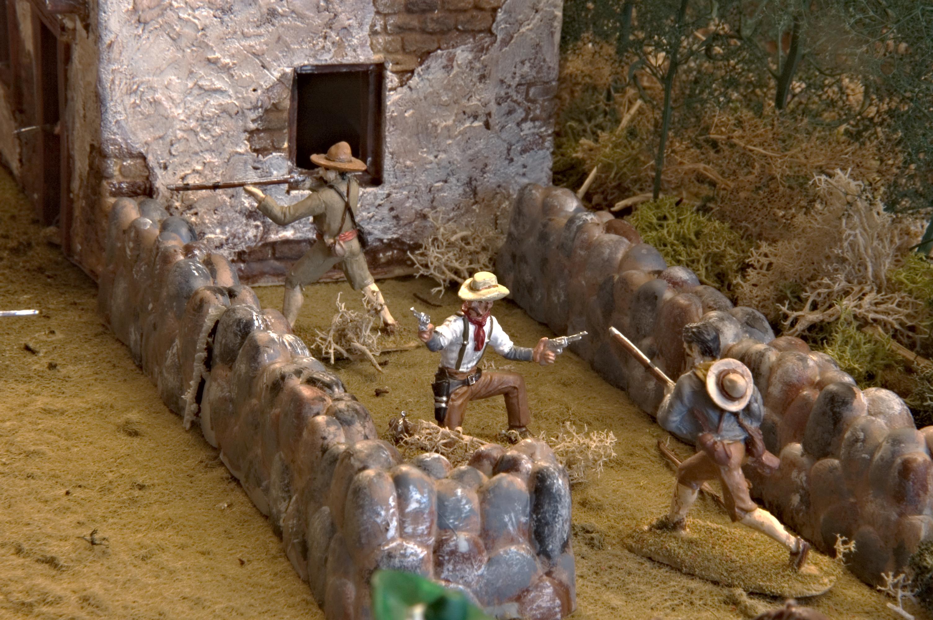 dioramas  GARY TANGEMAN  MOSTLY MINIATURES