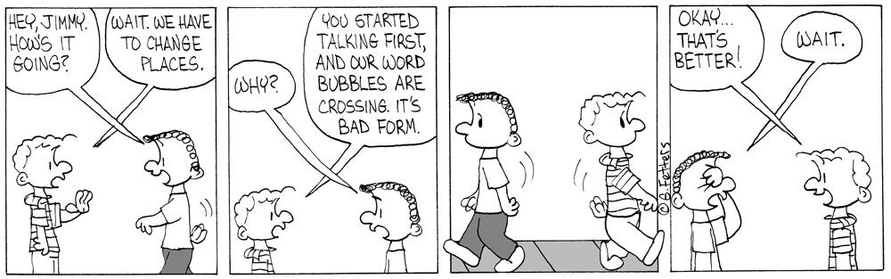 Word Bubbles Crossing