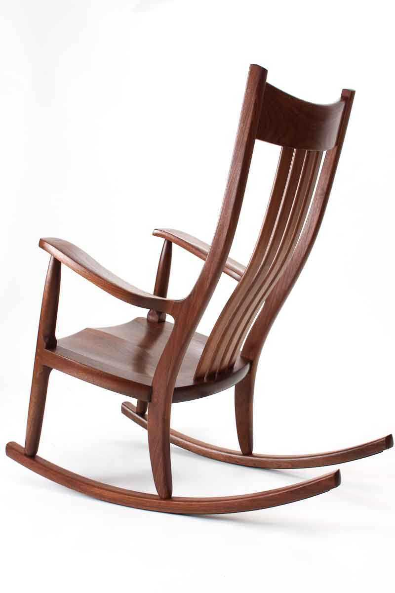 Cheap Rocking Chairs Walnut Rocking Chairs Comfortable Handmade Heirloom