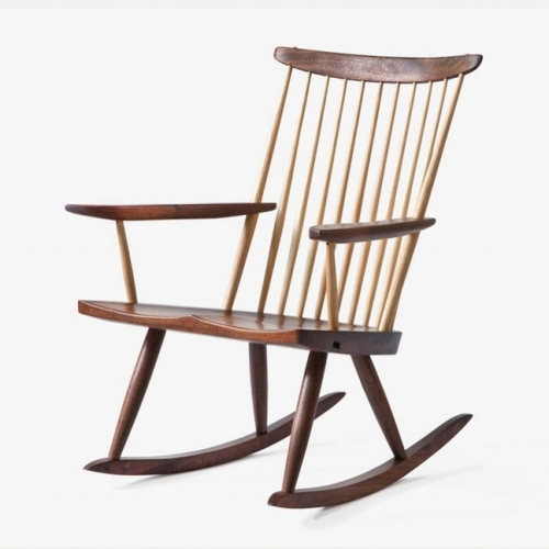 handmade rocking chairs chair covers for sale cheap directory of makers gary weeks and company nakishima