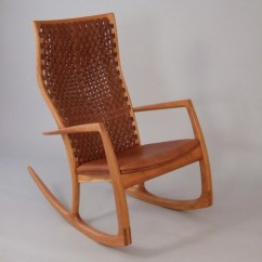 Handmade Rocking Chairs Reclining Hospital Chair Directory Of Makers Gary Weeks And Company Roger Deatherage