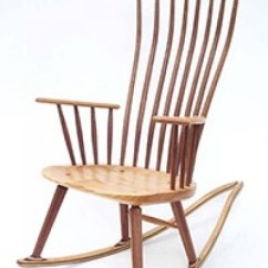 Handmade Rocking Chairs Black Kitchen Table And Directory Of Chair Makers Gary Weeks Company Michael Brown