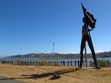 Sir Francis Drake on the bay