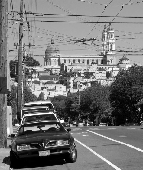 St Ignatius black and white