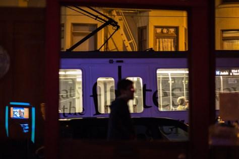 Alien on Irving Street in San Francisco