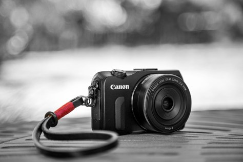 Canon EOS M at the Petaluma homestead