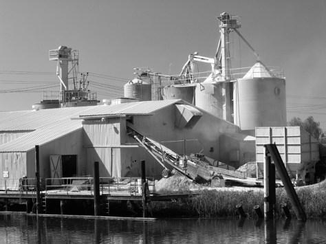 Petaluma river industrial