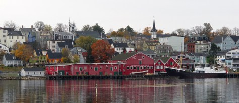 Lunenburg Nova Scotia panorama