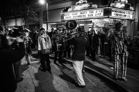 Petaluma Mardi Gras parade 1