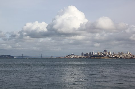 View of San Francisco from Fort Baker