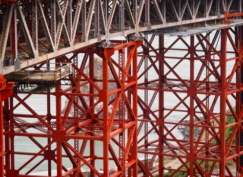Golden Gate Bridge girders