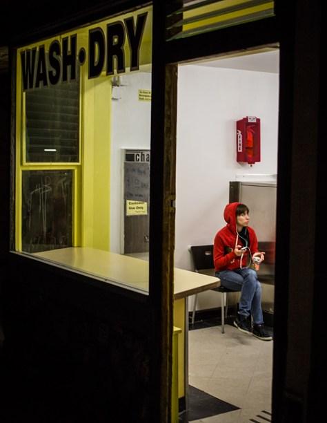 Laundromat scene 2