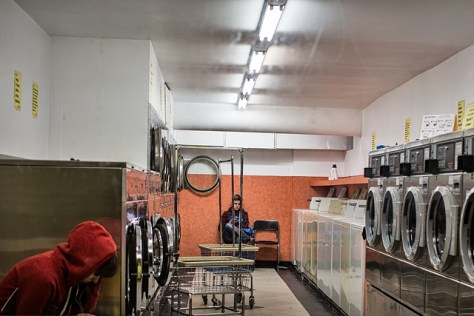 Laundromat scene 3