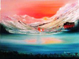 joyce vitek-tibetan-sunrise