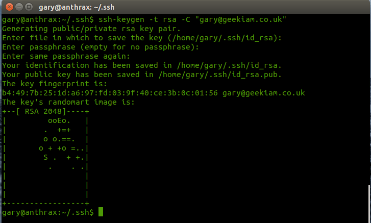 Setting up SSH keys for GitHub Access | Gary Woodfine