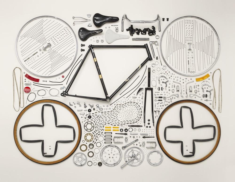 Disassembled Bike - Todd Mclellan