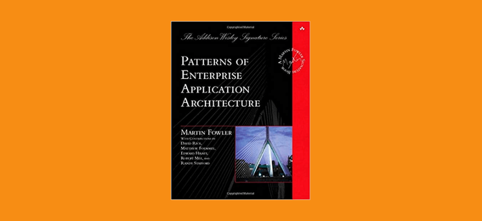 Book Review Patterns Of Enterprise Application Architecture Gary Fascinating Patterns Of Enterprise Application Architecture