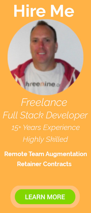 Hire Gary Woodfine Freelance Full Stack Developer