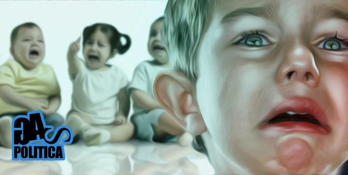 bambini pianto