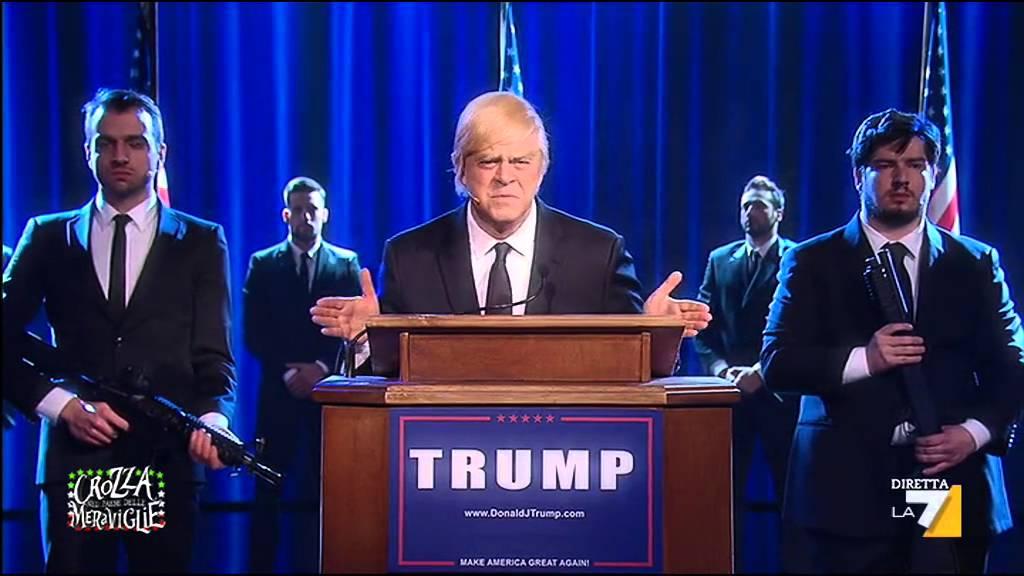 GasTube – Maurizio Crozza imita Donald Trump