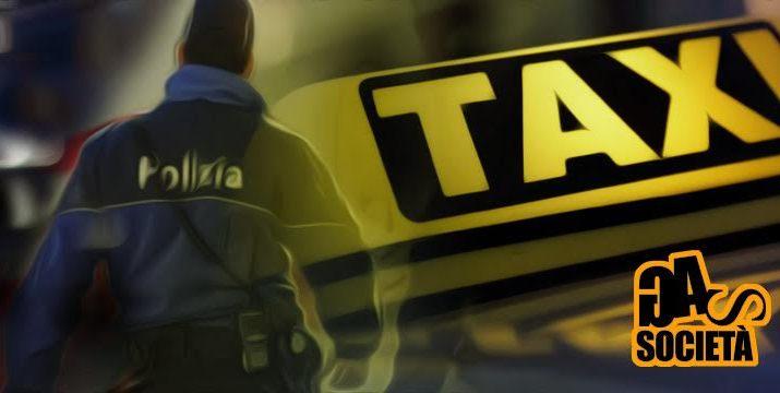Poliziotto taxi