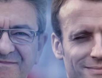 Macron Melenchon