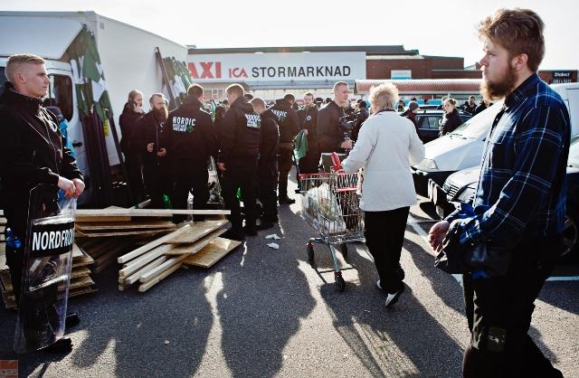 NMR samlades vid ICA i Mölndal där Ingegerd hade varit och handlat.
