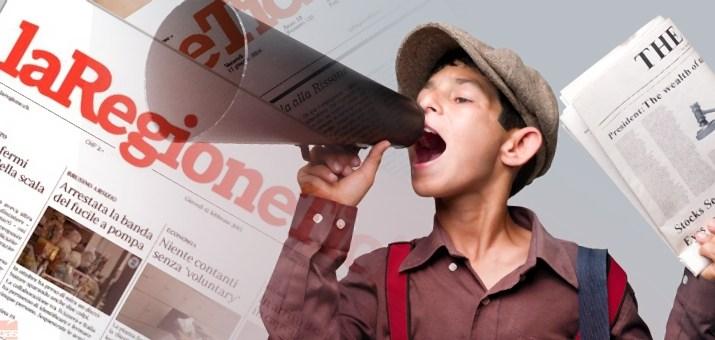 strillone giornale