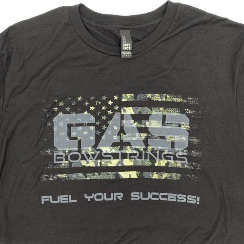 GAS Men's Camo Flag T-Shirt