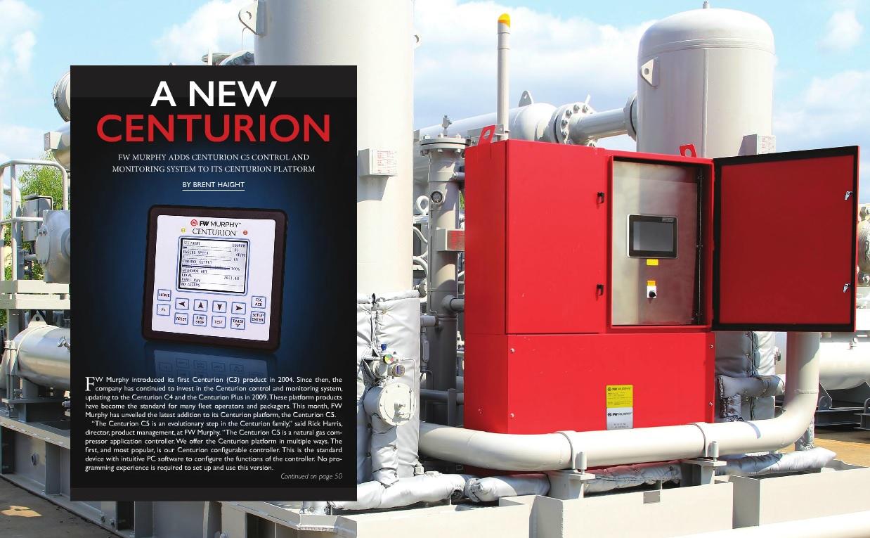 A New Centurion   Gas Compression Magazine
