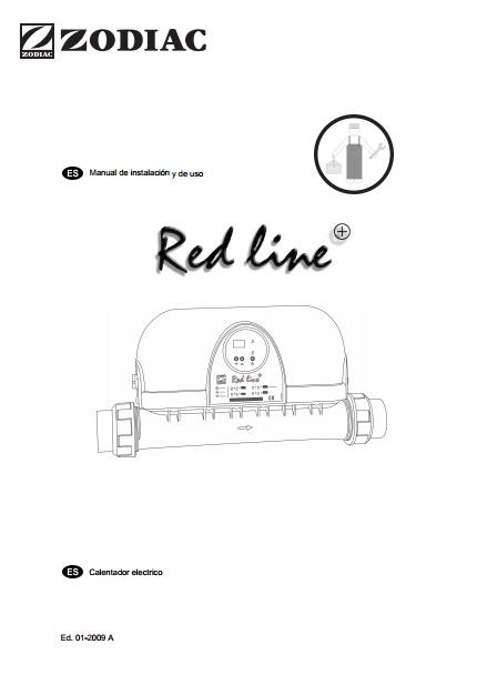 Calentador eléctrico para piscina Zodiac RED LINE 6