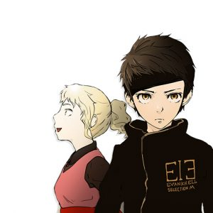 Imagem do Webtoon Tower of God