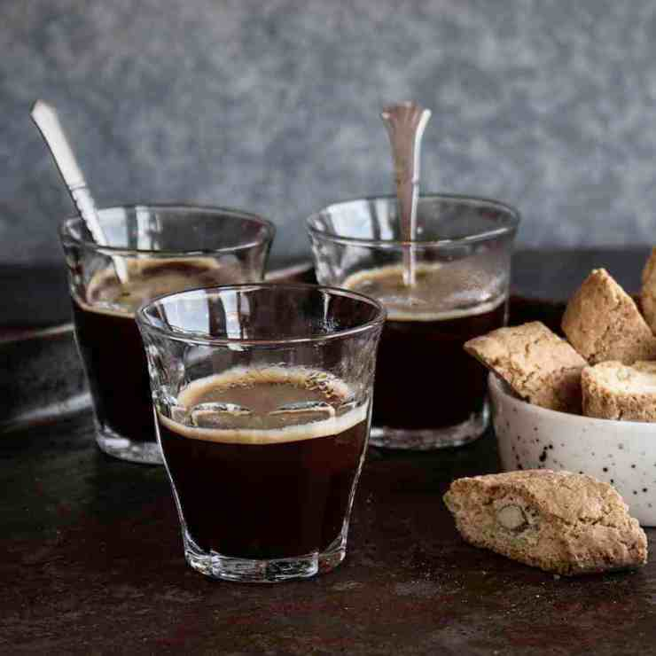 Nybrygd espresso