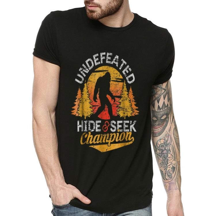 Bigfoot Undefeated Hide Seek Champion Shirt Hoodie Sweater Longsleeve T Shirt