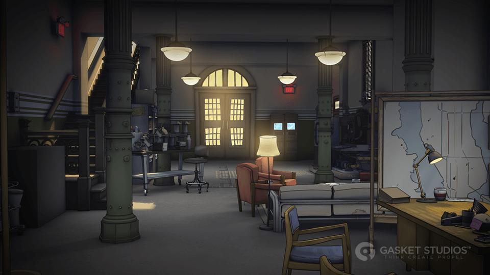 Ghostbusters  Gasket Studios