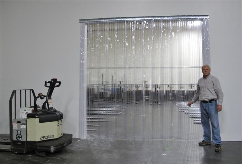commercial industrial strip curtain door kit