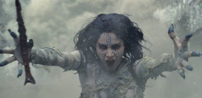 Sofia Boutella as the titular character - The Mummy (2017)