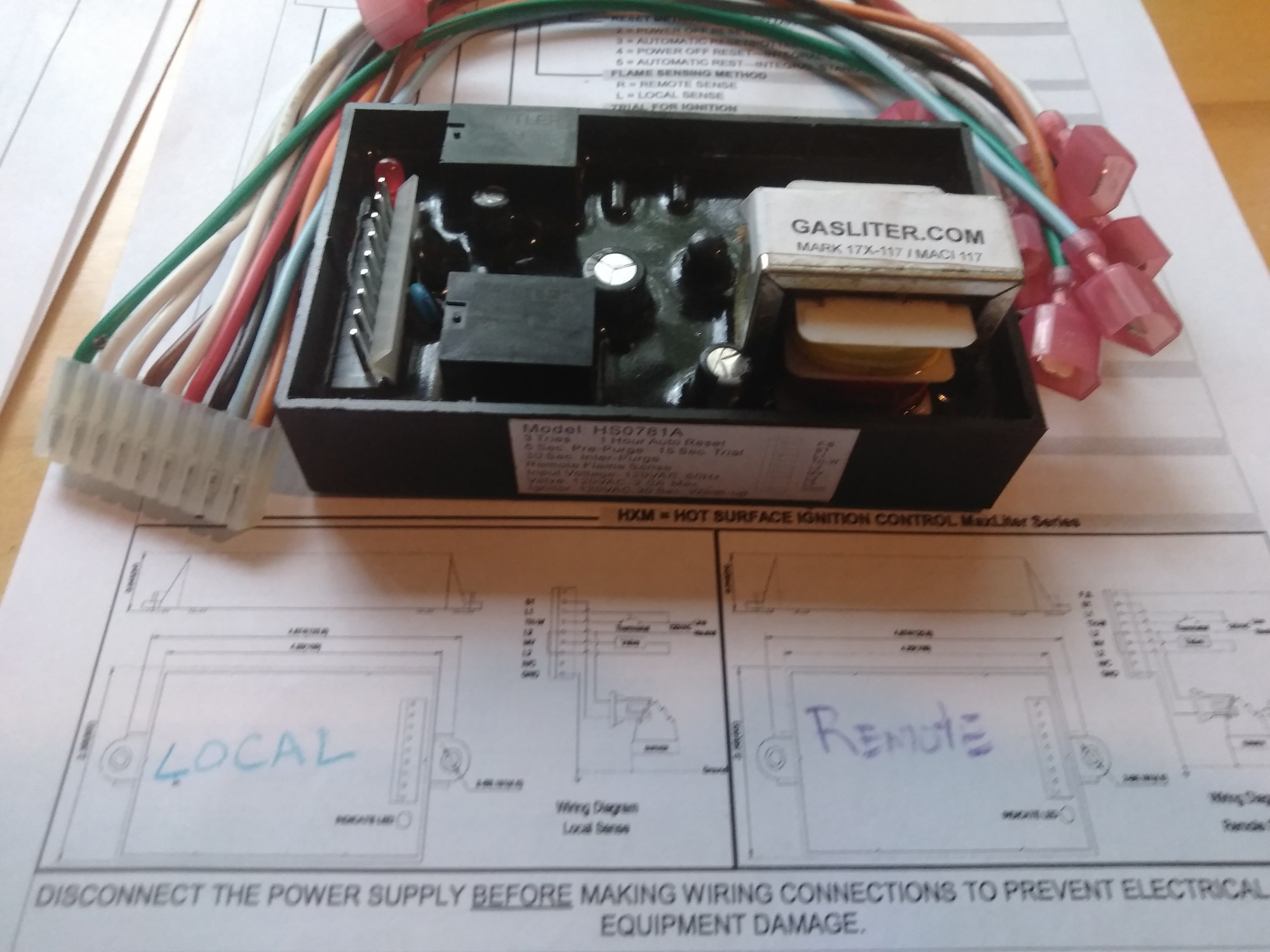 hight resolution of fenwal ignition module wiring diagram for 35 725206 117 wiringmaci 117x 117v hot surface ignitor