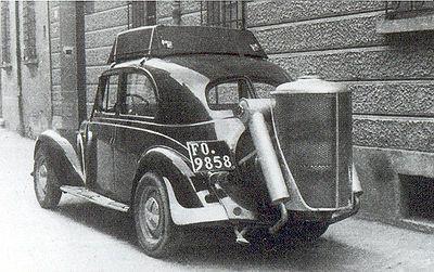 q1 1 - Carros movidos a Gasogênio