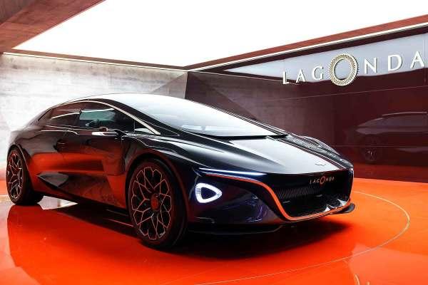 a11 - LAGONDA VISION o Concept da Aston Martin