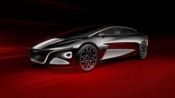 a4 - LAGONDA VISION o Concept da Aston Martin