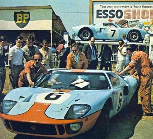 """f9 - """"FORD GT40"""" o matador de Ferraris"""
