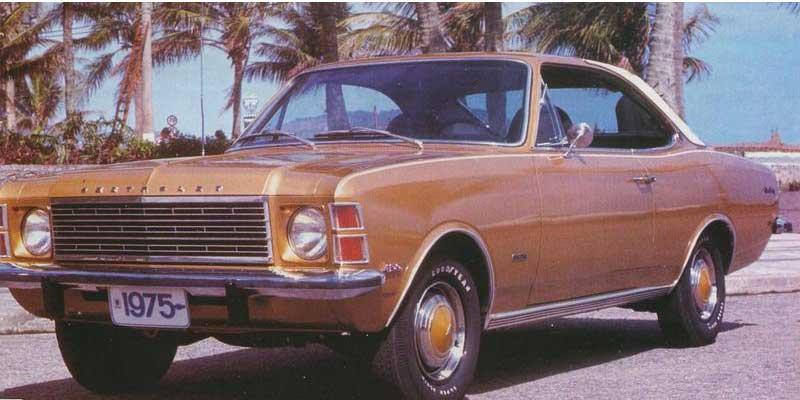 """o1 - Os 50 anos do primeiro """"Chevrolet Opala"""" produzido"""