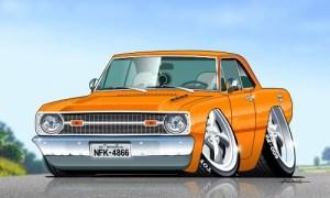 """Dodge Dart Custom 300x180 - Saudade dos """"Dodge Dart e Charger"""""""