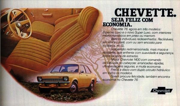 a14 - Chevrolet Chevette - 45 anos